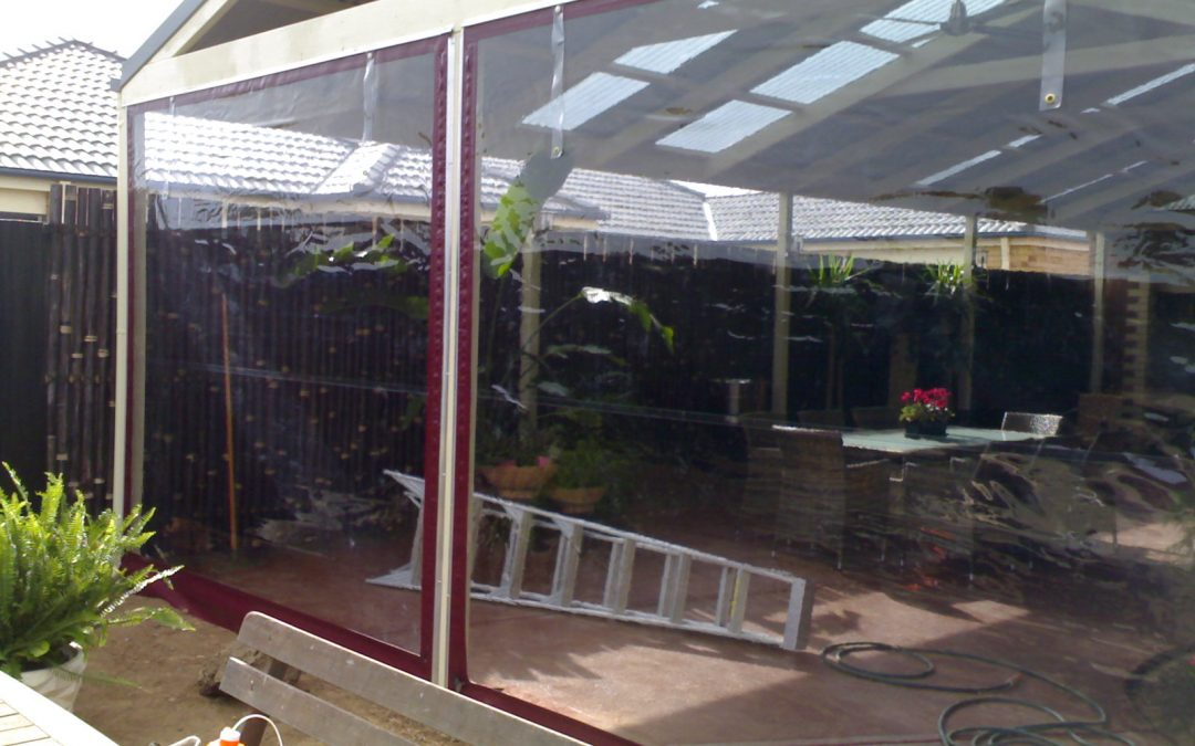 PVC Blinds / Alfresco